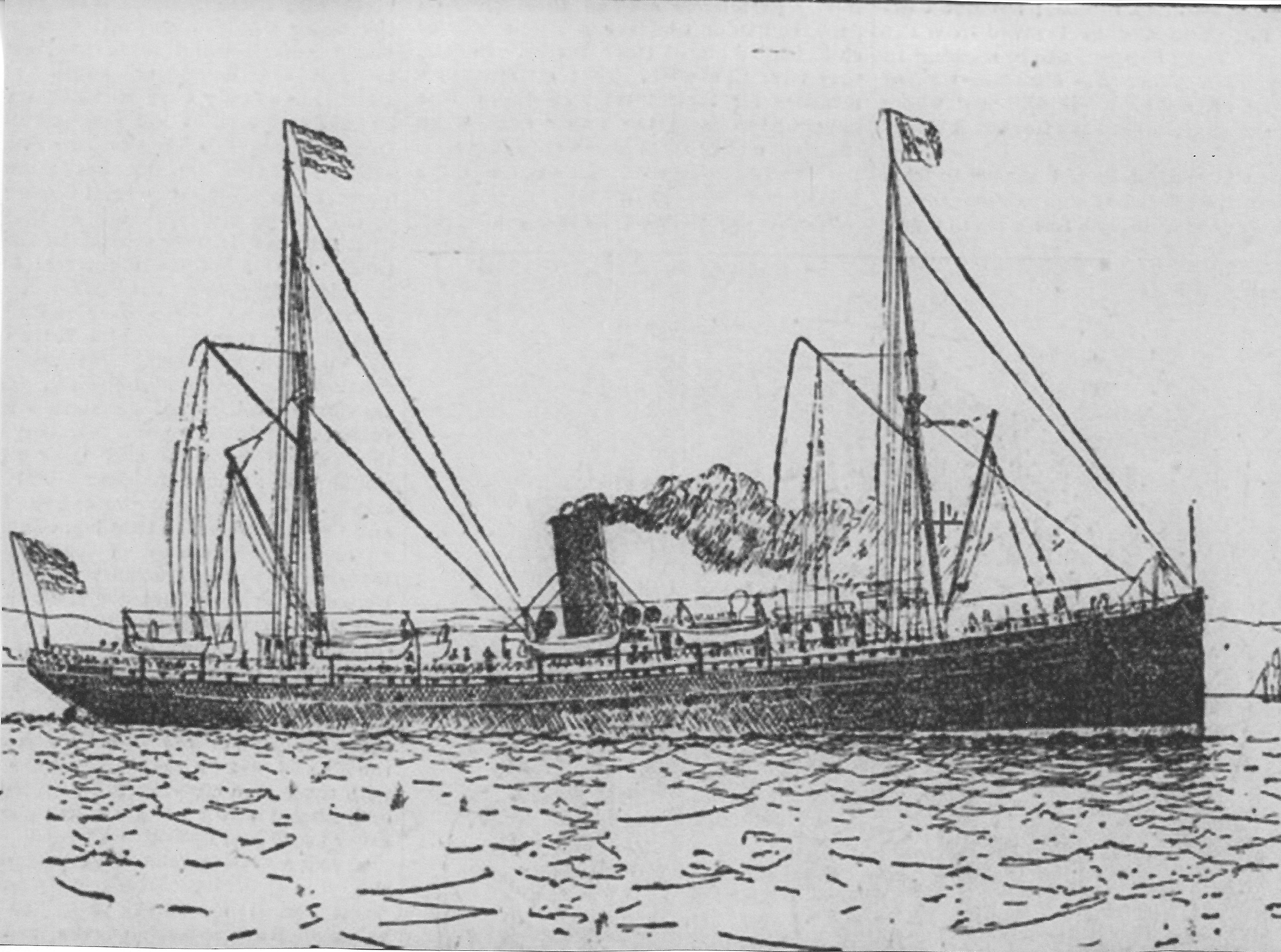 The San Juan: Panama to San Francisco, 1914