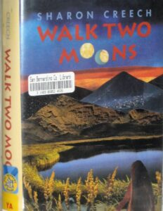 """Book cover for """"Walk Two Moons:"""